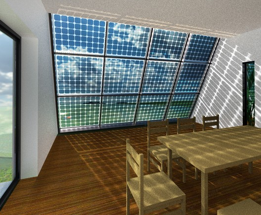 Venus villa 1 breakfast room