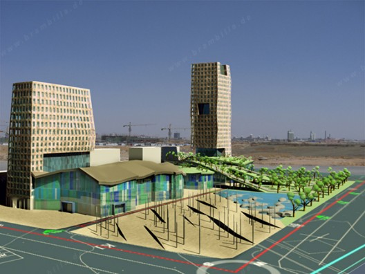 Business Center Dongsheng Overview North-East