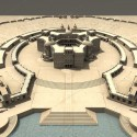 3D-Bridge Main Palace Overview South