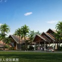 Hainan Tunchang Cheng Wei peninsula project: Club House